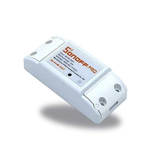 DSDY WiFi Smart Interruptor inalámbrico Luz Dispositivo de Control Remoto Control Remoto móvil Relé Compatible con Alexa y Google Home Appliance Asistente Dispositivo a través de iPhone