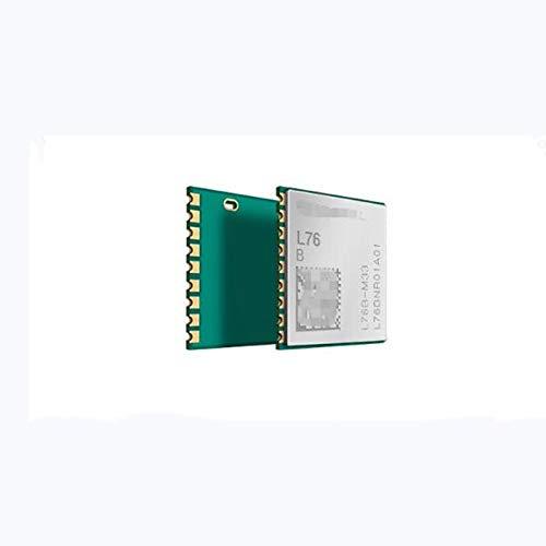 KEKEYANG L76B L76B-M33 GPS module Quectel GNSS Antenna MTK3333 Multi-GNSS 100% New&Original engine for GPS, BeiDou and QZSS Controller Board (Color : 5pcs)