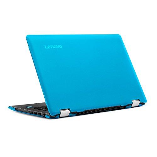 mCover - Funda rígida para Yoga 510 de 14 Pulgadas (no Compatible con Yoga 530 / Yoga 520 Series **) portátil (Lenovo Yoga 510, Aqua)