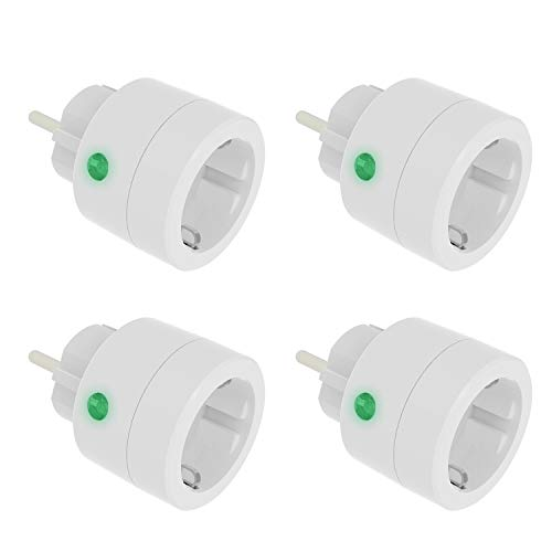 UCOMEN WLAN Smart Mini Steckdosen WiFi Stecker Smart Plug Funktioniert mit Amazon Alexa und Google Home - 4er Pack