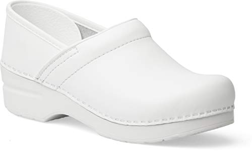 Dansko Women's Professional White Box Clog 8.5-9 M US