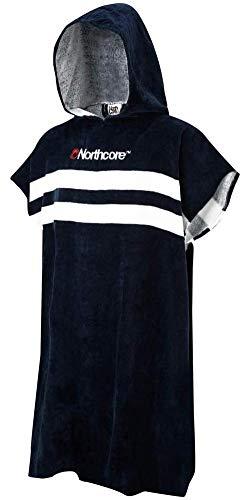 Northcore Beach Basha Changing Robe Stripes Jacke, blau, Einheitsgröße