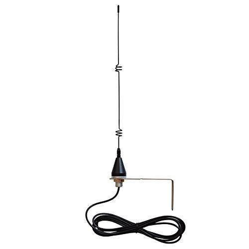 Antena Universal 868 MHz 7dbi para Receptor de Puerta Automática Completa con Soporte Y Cable Blindado