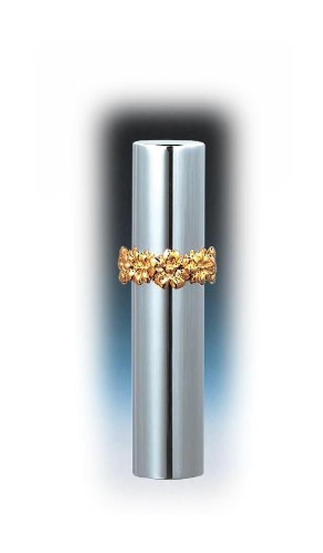高音クランプクラッシュ18531 メタルアトマイザー シルバー ハワイアンリング ゴールド