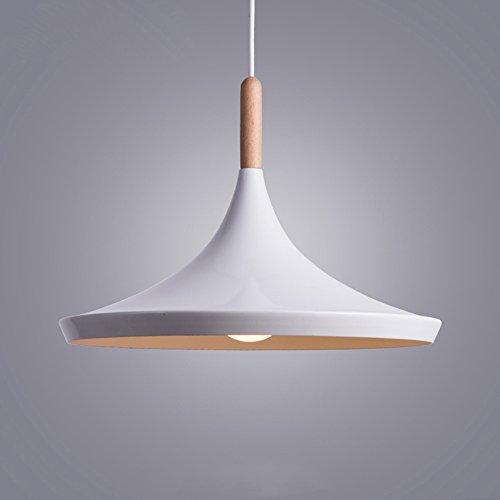Suspension Bois et Metal industrielle Deco Lampe /éclairage 3 ampoules lustre Suspension r/églable en hauteur pour salon Restaurants Cave Bars antichambres Chambre Tricolor 40 W E27