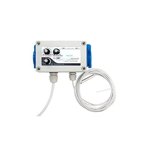 GSE Digitaler Controller 2 Kanäle Temperatur und Unterdruck
