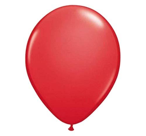 Folat - Globos De Rojo Color Para Fiesta - 12In/30cm - 50 piezas