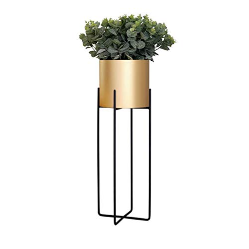 Metal Plant Stand, Iron Art Flower Pot Holder, Modern Flower Display Potted Rack,Decorative Plant Holder for Home, Garden, Patio 6 Colors