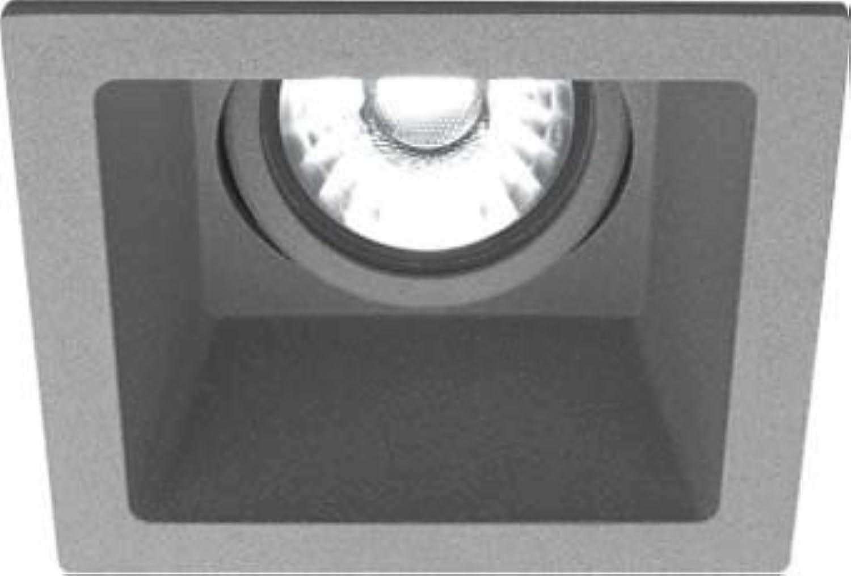 LTS Licht&Leuchten LED-Einbaustrahler VTSM 10.0530.25 SI 3000K 830 Flood Vale-Tu Downlight Strahler Flutlicht 4043544463289