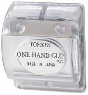 ( お徳用 200セット ) トーキンコーポレーション ワンハンドクリップ OC-C 透明
