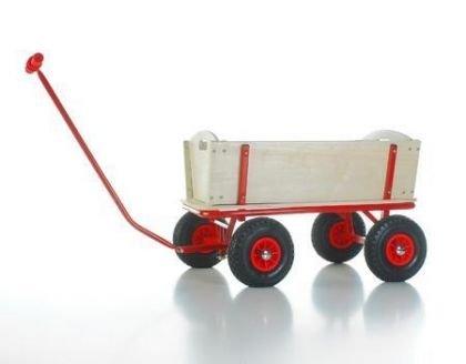 Unbekannt Bollerwagen BUBI rot