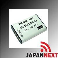 NIKON EN-EL11対応バッテリーニコン COOLPIX S550 S560 Optio M50等【EDOGAWA】 保障付(JN-BAT)