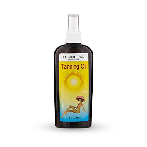Dr. Mercola: Natural Tanning Oil 8 oz by Mercola