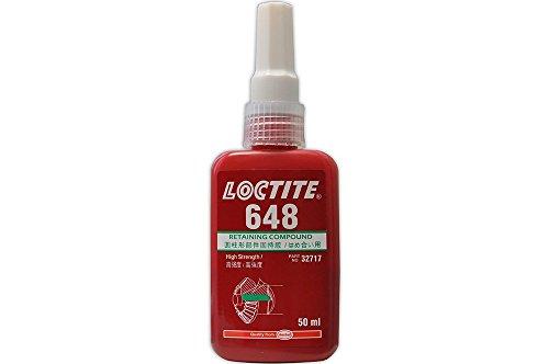 LOCTITE 648 HOCHFESTEN BEIBEHALTUNG ZUSAMMENGESETZTE METALL KLEBER 50 ML B/B 11/17