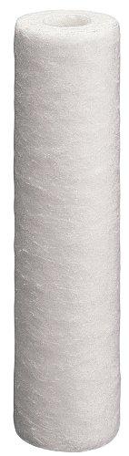 Culligan 2PK Spun Poly Cartridge P1 Whole House Premium Water Filter, 8,000 Gallons, 2-Pack, white