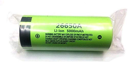 3.7V 5000Mah 26650A Li-Ion Baterías Recargables De Alta Capacidad para Led Flashlight-2Pcs