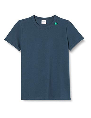Fred's World by Green Cotton Jungen Alfa s/s T T-Shirt, Blau (Midnight 019411006), (Herstellergröße: 128)