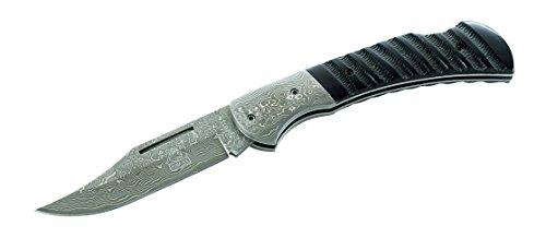 Puma TEC Couteau Damas de Poche, 71 Couches, Corne