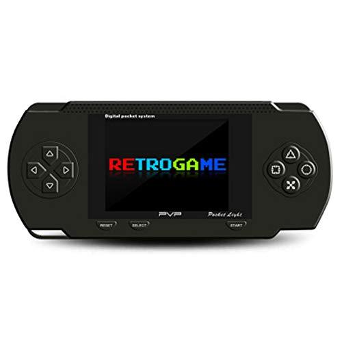 INEP Hand Retro-Spielkonsole mit 132 klassischen PSP FC-Spielen, tragbarer Mini-Tasche Gaming-TV-Ausgang Klassische Retro-Handheld-Konsole,A