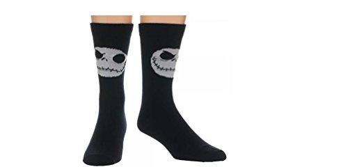 Calcetines de pesadilla antes de Navidad 2par–1cada estilo