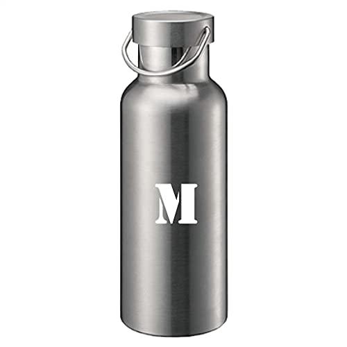 メタルハンドルサーモボトル 500mlステッカー付き ステンレス ボトル 保温 保冷 マイボトル op-ts-1515-005