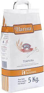 HARINA TEMPURA 5 KG.MIAU
