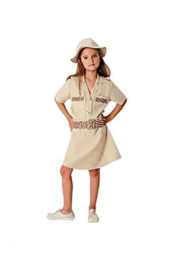 Costumizate! Disfraz de Exploradora Talla 10-12 Especial para nios Fiestas de Disfraces o Carnaval