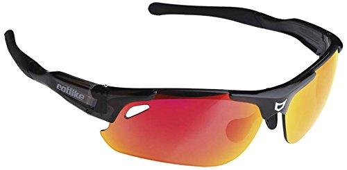 Catlike Sphynx Gafas de Ciclismo, Unisex, Negro, Talla Única