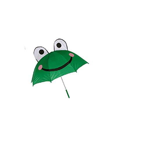 Regenschirm/Schirm/Kinderschirm/Kinderregenschirm/Kinder Regenschirm/Frosch - Frog - Das lustige Design bringt auch bei schlechtem Wetter EIN Strahlen in Kindergesichter!