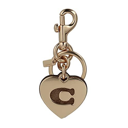 [コーチ] キーホルダー ハート チャーム キーフォブ COACH Signature Heart Charm Key Fob 91478 IM/Khaki [並行輸入品]