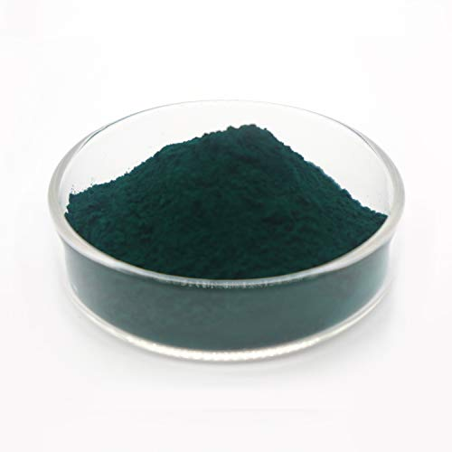 Green Organic Iron Oxide Pigment, Colorant, Concrete Pigment, Grout Pigment, Used in Coatings, Plastics, Inks, Rubber, Mortar, Stationery, Building Exterior Walls (0.22lb)