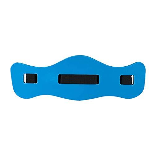 A/H Gürtel Runner Training Wasser Sport, Aqua Jogging Gürtel Runner zur Verbesserung der Wasserlage und Körperhaltung, Schwimmschaufeln Swim Belt Swimming Training (Blau)