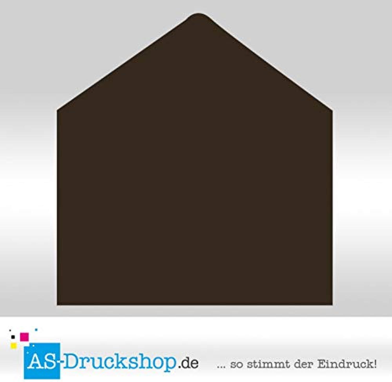 Briefumschlag KuGrün - Schoko - Samt Samt Samt satiniert DIN B6   50 Stück B0794WV9F2 | Vielfalt  c8a640