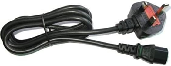 Official Microsoft Xbox 360 Slim power cable UK plug 2 pin ... on