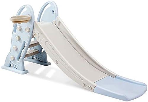 Kinderrutsche Kinderrutschen Home Kinderrutschen Familienspielplatz Baby Babyrutschen Moderne Kinderrutsche (Farbe   Blau, Größe   175  48  80cm)