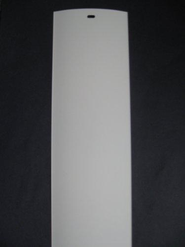 PVC Vertical Blind Replacement Slat (White) 20 Pk 82 1/2 X 3 1/2