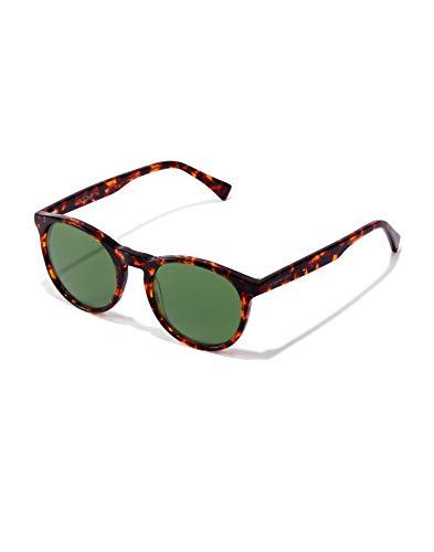 HAWKERS BEL Air X Gafas de sol, Carey/Verde Botella, One Size Unisex Adulto