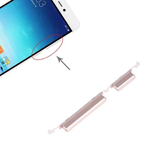 LISUHONG BMSD Pulsante AYD Potenza e Volume Pulsante di Controllo for 5s Xiaomi Mi (Colore Rosa) (Color : Gold)