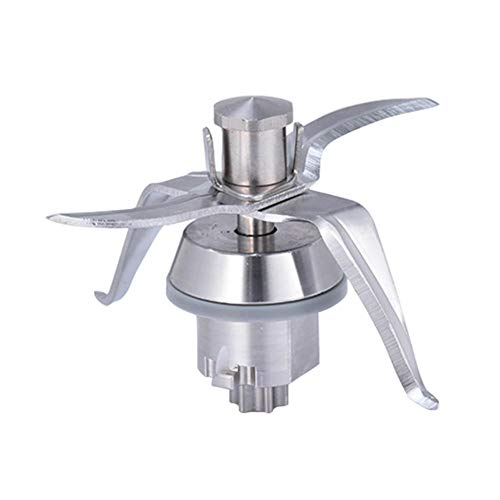 chifans Base de hoja de acero inoxidable para Vorwerk Thermomix TM21. Accesorio mezclador fácil de usar, inoxidable y duradero.