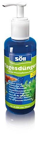 Söll Tagesdünger Aquarium Universaldünger Hochkonzentriert und Phosphatfrei Tägliche Wasserpflanzen-Power, 500 ml