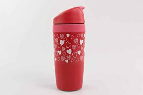 Tupperware Trinkbecher Coffee to GO Herzmotiv 350ml Valentinstag