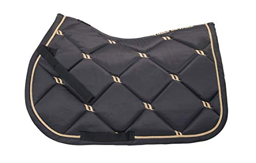 Back on Track® Welltex Nights Collection Saddle Pad Jump VS Graphite Gr. Full