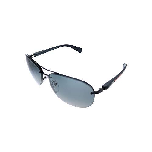 Prada Sport Hombre gafas de sol PS 56MS, 1BO1A1, 65