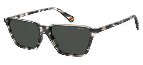 Polaroid Gafas de sol PLD 6126 / S AB8 / M9 Gafas de sol Hombre color Gris havana medida de la lente 56 mm