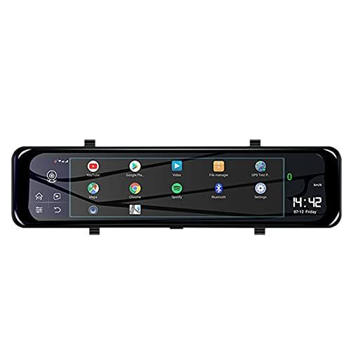 Nirmon Specchietto Retrovisore per Auto da 12 Pollici Registratore Automatico 4G Android 8.1 DVR Dash Camera 4GB + 32GB Specchio per Visione Notturna 1080P WiFi GPS