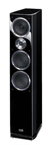 Heco Celan GT 702 220W schwarz Lautsprecher - Lautsprecher (3-Wege, 1.0 Kanal, kabelgebunden, 220 W, 22-50000 Hz, schwarz