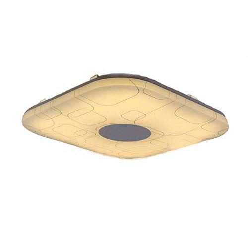Natsen® 12W Warmweiß LED Deckenlampen Moderne Deckenleuchte Dielelampe Flur Küche (260 * 260 * 50mm) X809F