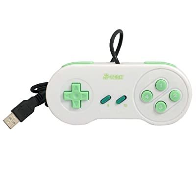 USB Gamepad ergonomic SLIM, SNES Style