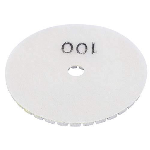 Discos de lijado, polvo de diamante de grano en pulgadas de alta calidad con grano diamante 100 (blanco)