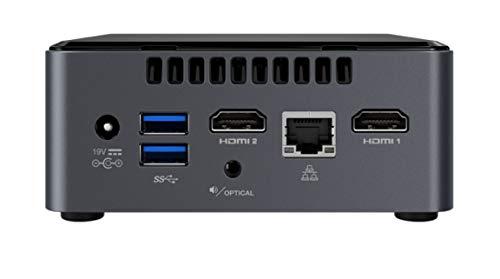 Intel Nuc Mini Komplett PC, Intel Dual Core 2 x 2,70 GHz, 8 GB RAM, 256 GB SSD, USB 3.0, HDMI, Intel UHD Grafik, 4K Aufloesung, 3 Jahre Herstellergarantie, Windows 10 Pro
